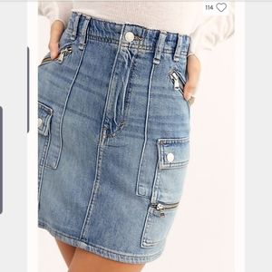 Free People Avenue Mini Skirt